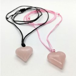 Love rózsakvarc minimàl nyaklánc