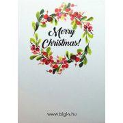 Kisérőkártya - Merry Christmas
