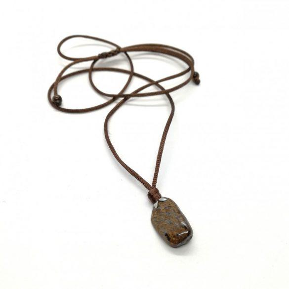 minimàl nyaklánc bronzit